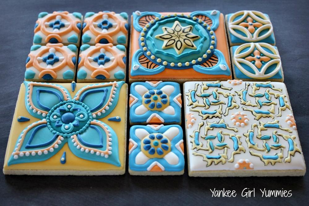 Cookie Tiles - Istanbul Inspiration