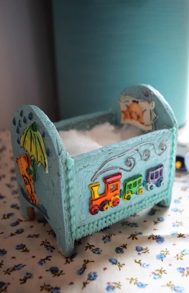 Sweet Baby Boy Cradle 2 (Mimamamendulza)