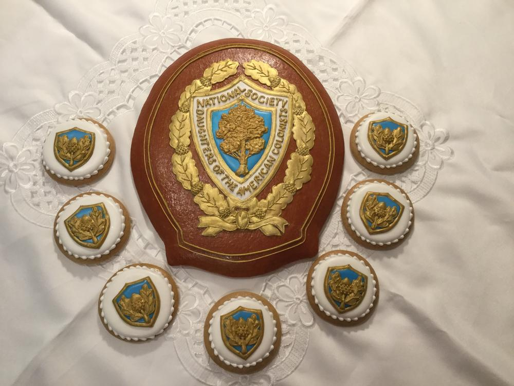027cf3bba06c Cookie Set for the Daughters of the American Colonists