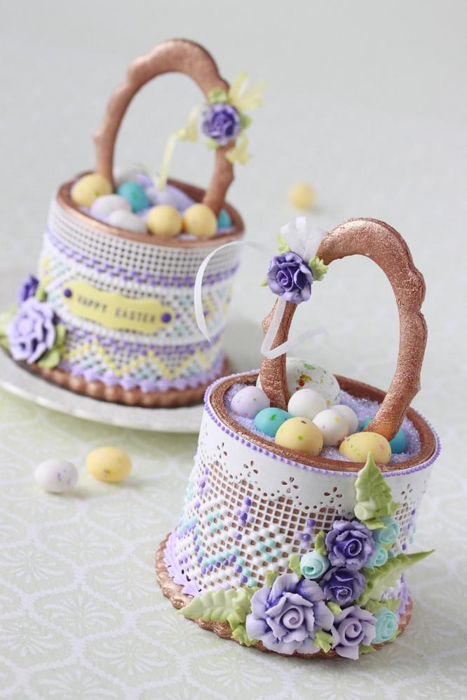 3-D Easter Baskets