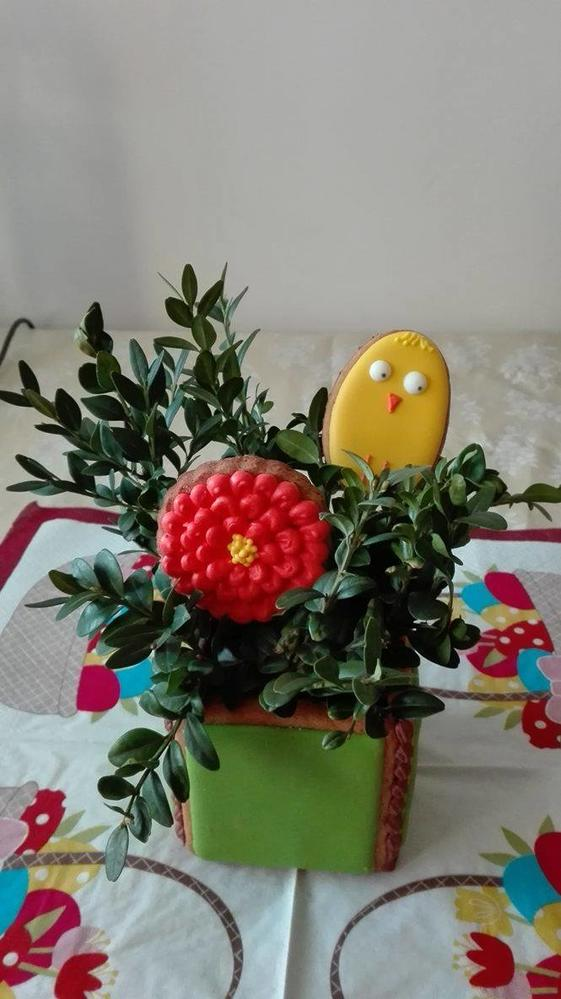 Easter cookie box - chick