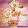 Rustic Easter cookies