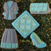 Turkish Tile-Inspired Fashion Cookies