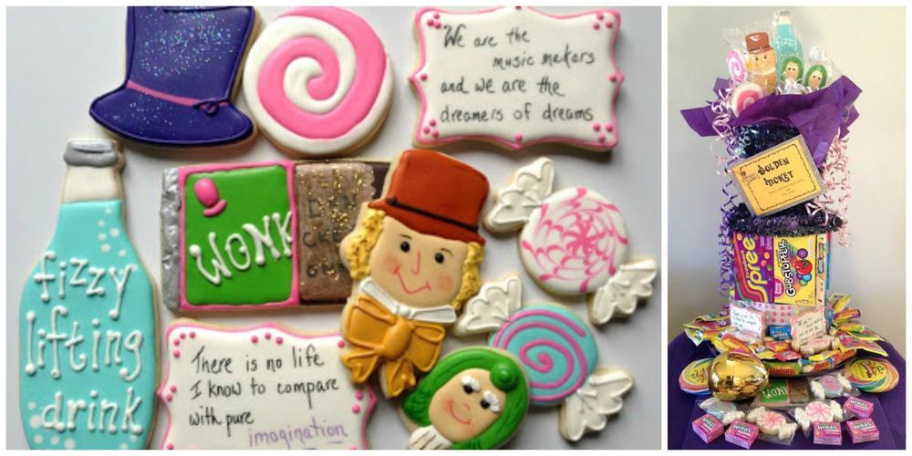 Wonka collage
