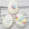 How to Decorate a Pansy Ruffled Cookie