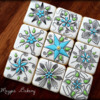 Flower Tiles | The Magpie Bakery