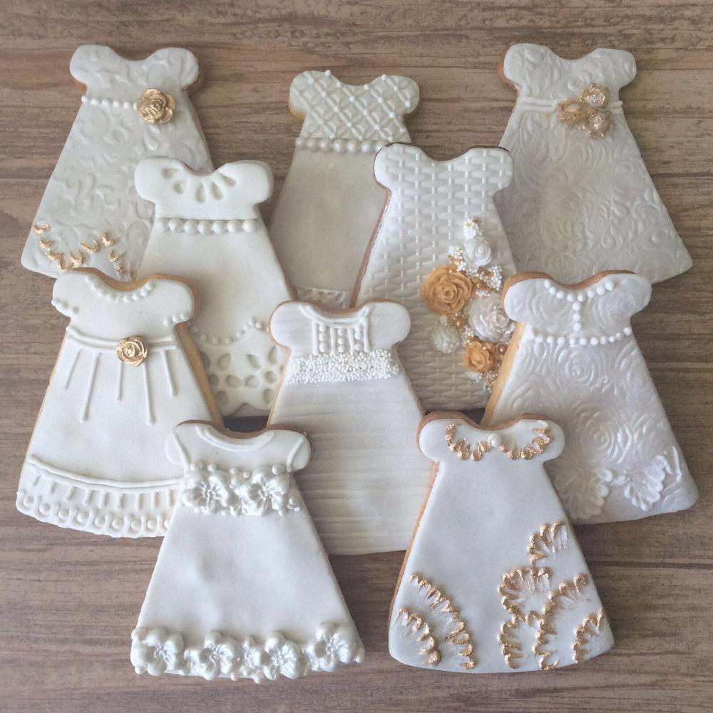 Lorena Rodríguez. Dress cookies