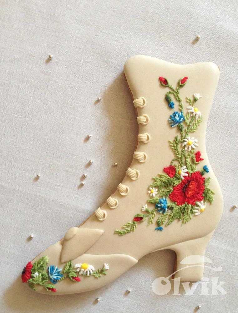 Vintage Boot for Charming Lady