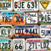 US License Plates | The Magpie Bakery