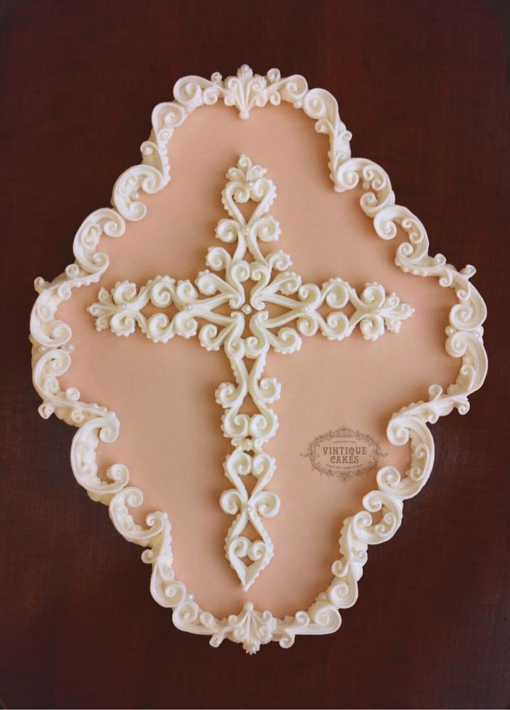 Ornate Cross Cookie