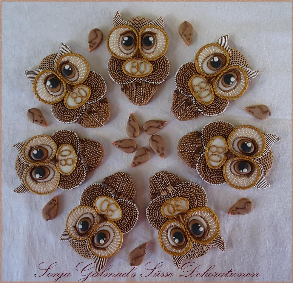 Of Mice and Owls... Birthday Cookies _ swissophie