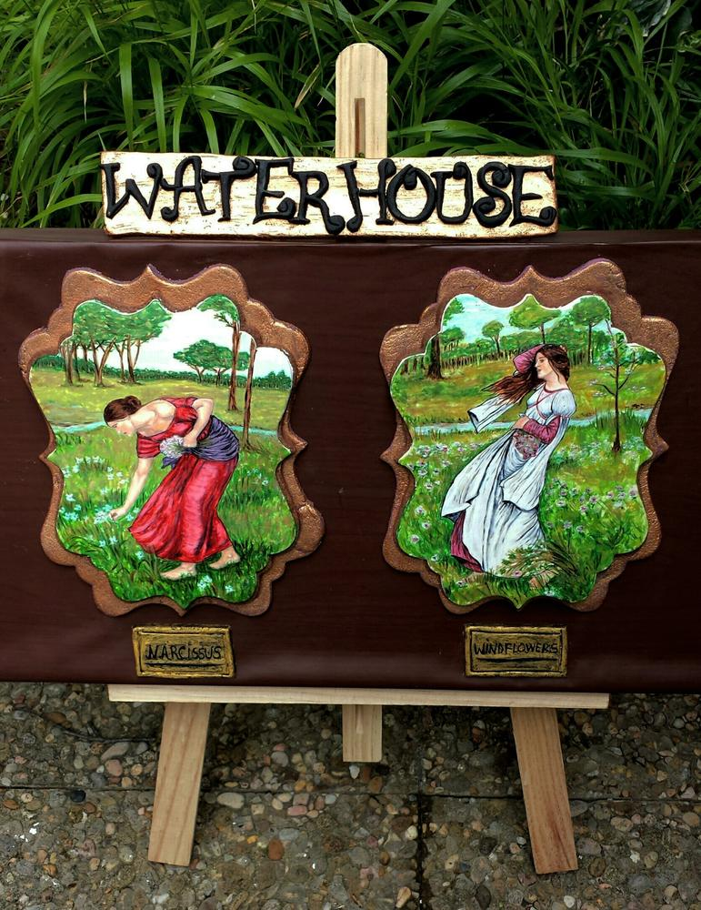 "Waterhouse ""Spring art collaboration"""