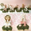 3-D First Communion Name & Girl Cookies