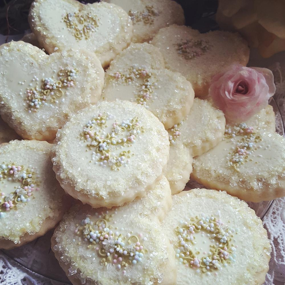 Luscious lemon tea cookies