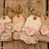 Rose Poem Bookmark Cookie