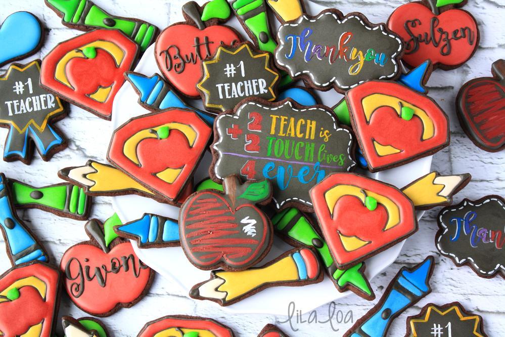 Super Teacher Cookies