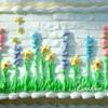 White Brick Wall Garden