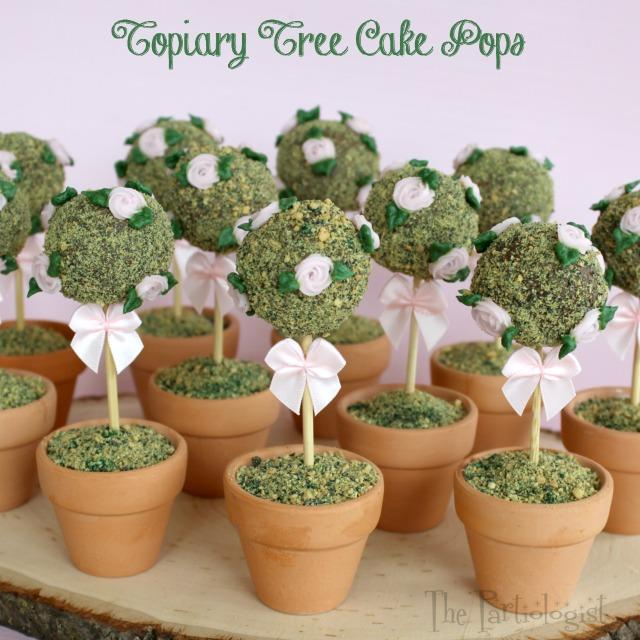 Topiary Tree Cake Pops