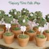 Topiary Tree Cake Pops