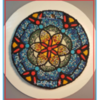 Mosaic Stained Glass Cookie