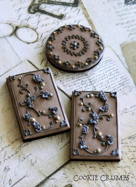 Vintage Ironwork Cookies