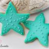 Starfish Cookies by Emma's Sweets