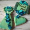 Blue Rose Cookies