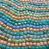 Coral and Teal Mosaic