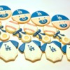 Dodger Baby Shower Cookies