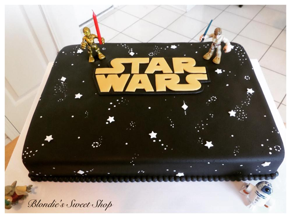 Images Of A Star Wars Cake : Star Wars Cake Cookie Connection