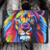 Rainbow Lion Conservation Awareness Cookie
