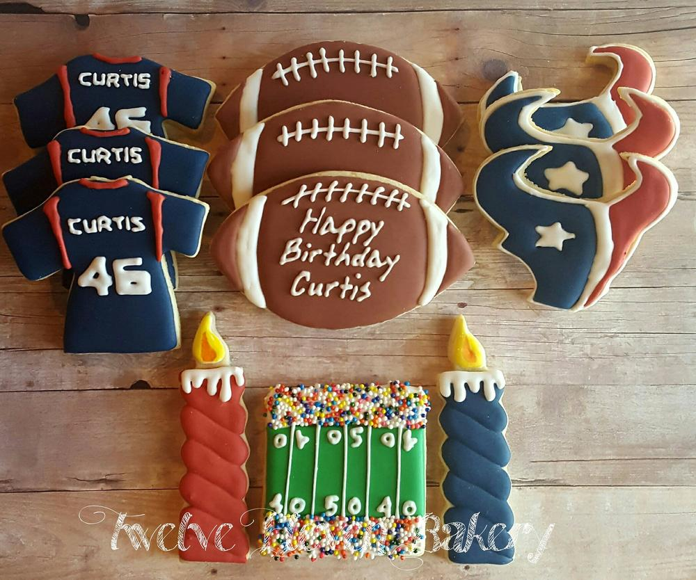 Houston Texans Cookies