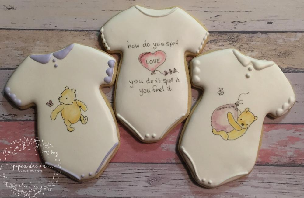 Pooh Bear Baby Shower Cookie Connection
