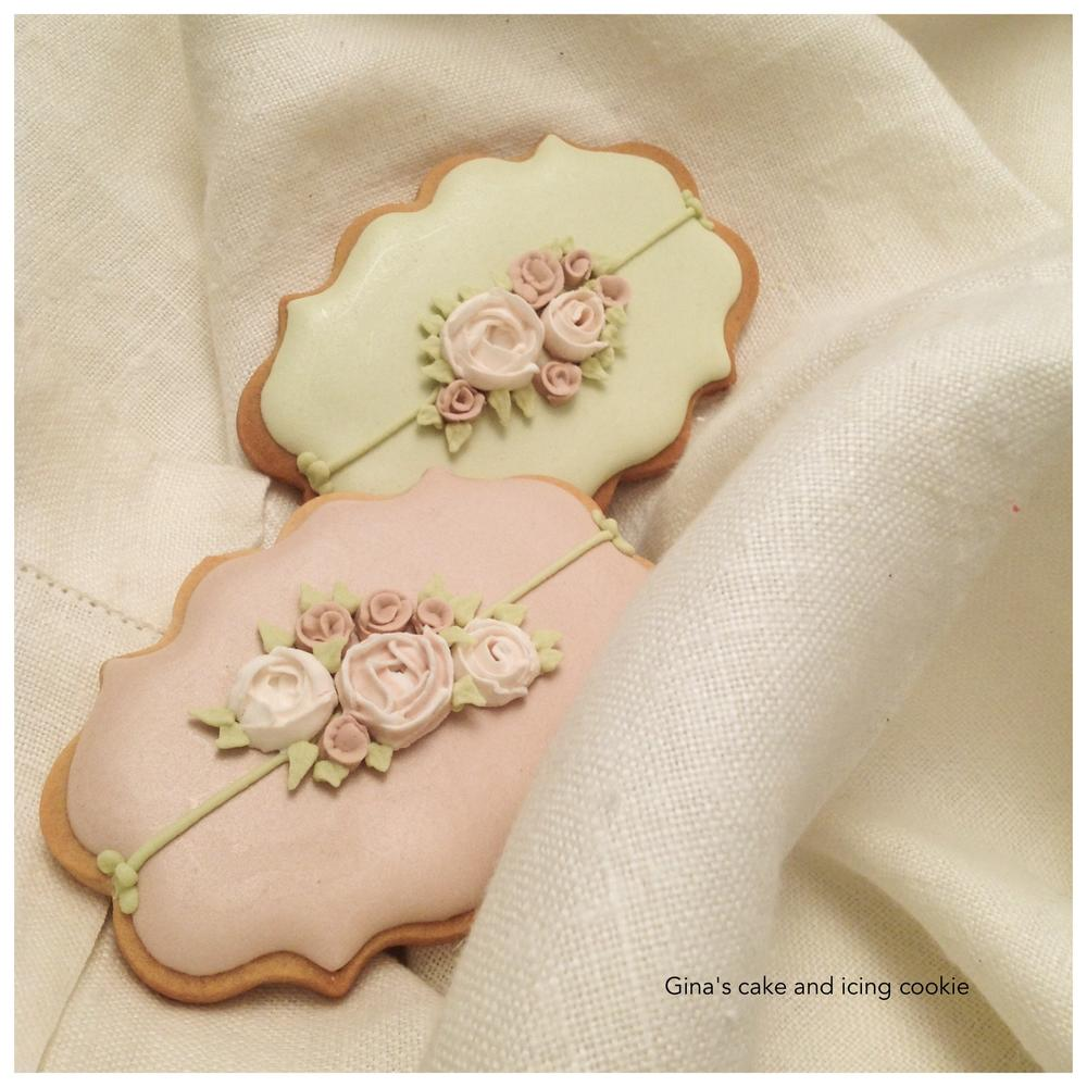 Roses on Plaques