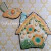 Flowering Birdhouse (Cookie Celebration LLC)