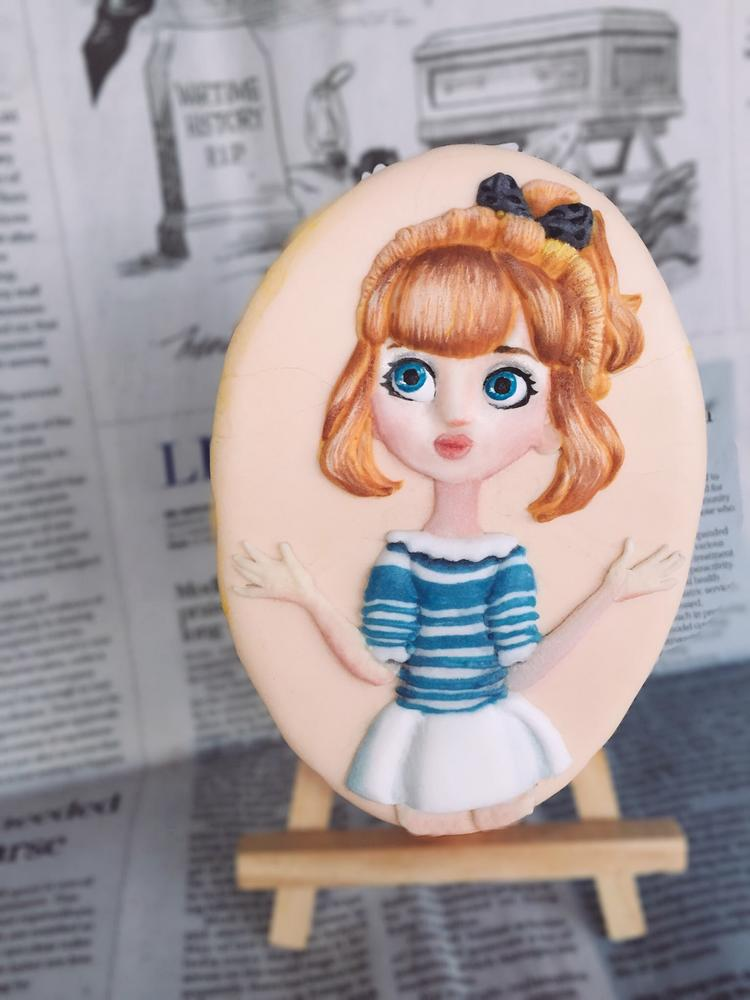 Animation Doll cookie