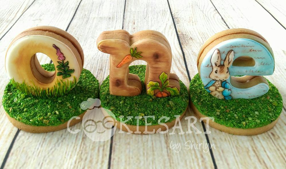 Beatrix Potter 3-D Cookies