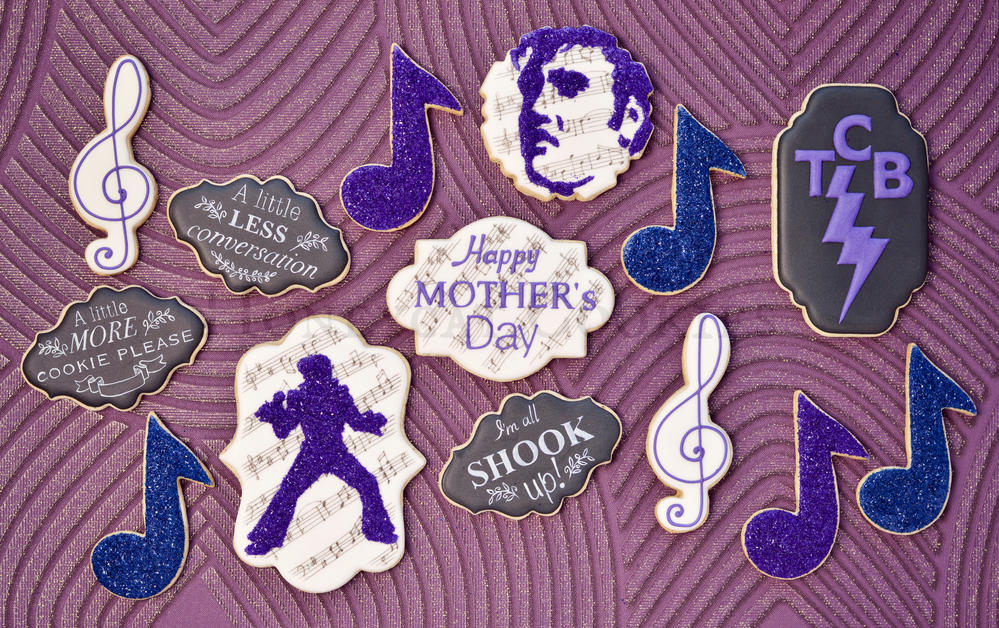 Elvis Mother's Day cookies