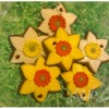 Daffodil Gingerbread Cookies by Shell's Sweet Serendipity