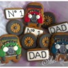 Fathers' Day Vintage Motor Car Cookies by Shell's Sweet Serendipity