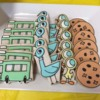 Mo Willems Pigeon Birthday Party Cookies