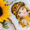 Handpainted Summer Girl Cookie