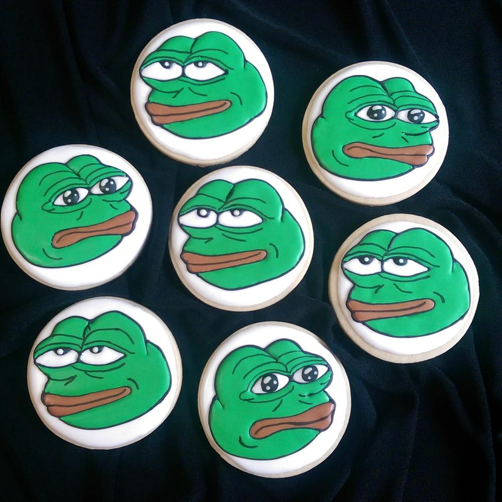 Pepe The Frog Cookies