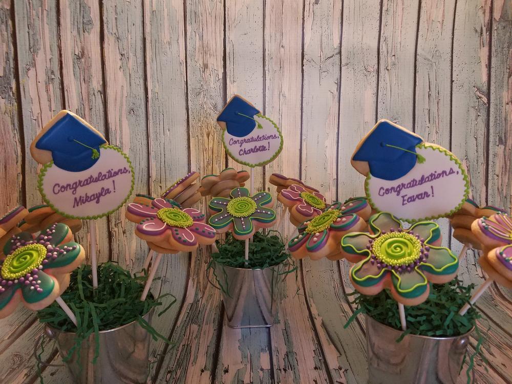 Wild Flower Graduation Bouquets