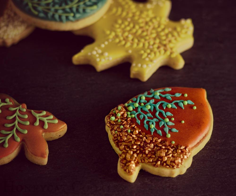 Acorn cookie