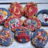 Circus-Themed Cookies