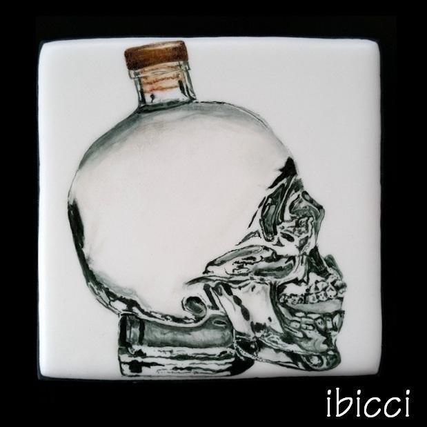 Crystal Skull Bottle
