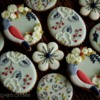 Bird & Botanical Cookies