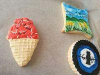 my other attempt an ice cream cookie