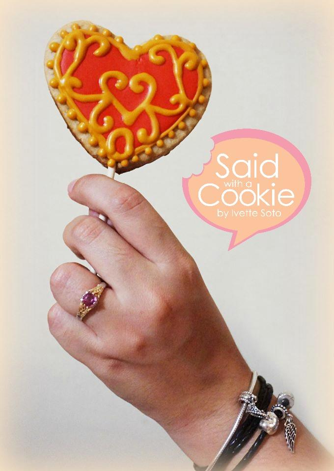 Skyward Heart  Cookie